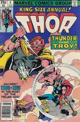 Thor, King-Size Annual #8, Thunder over Troy, Zeus