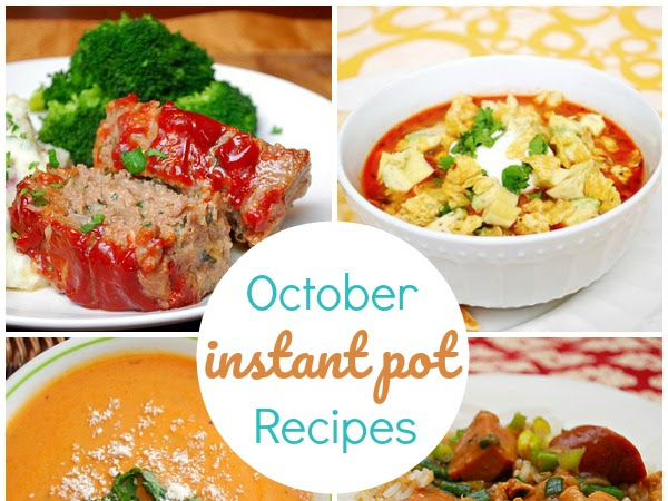 Best Instant Pot Recipes for October
