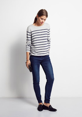 Hush Stripe Jumper