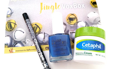 Cetaphil Moisturizing Cream, Pure Ice Nail Polish, NYC City Proof 24HR Waterproof Eyeliner