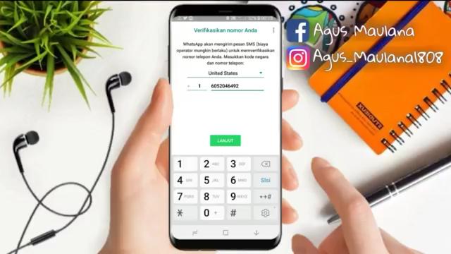 Cara Login WhatsApp Menggunakan Nomor Unik Tanpa Verifikasi