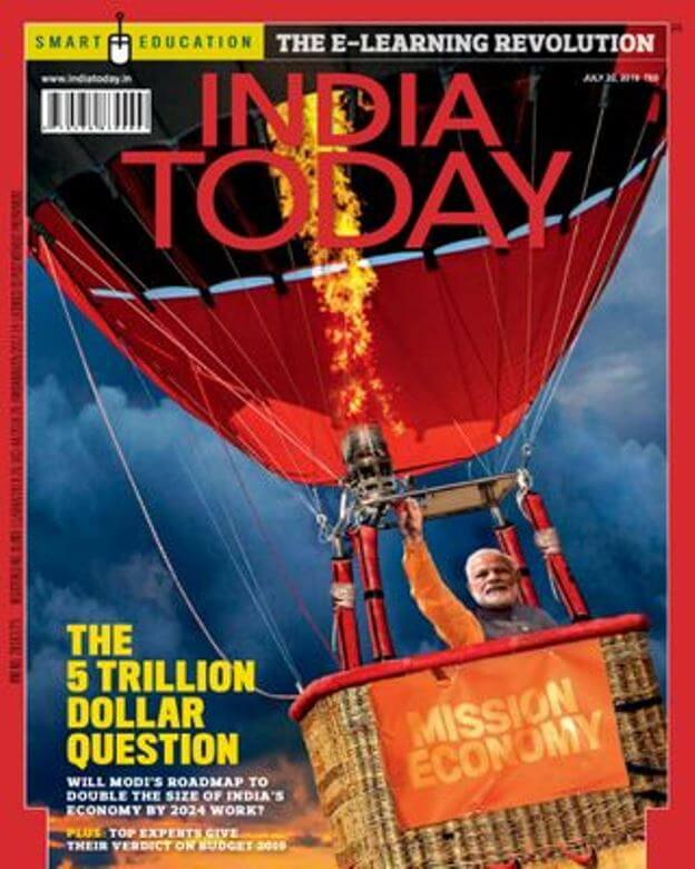 India Today 22 July 2019 Current Affairs : For All Competitive Exam PDF Book