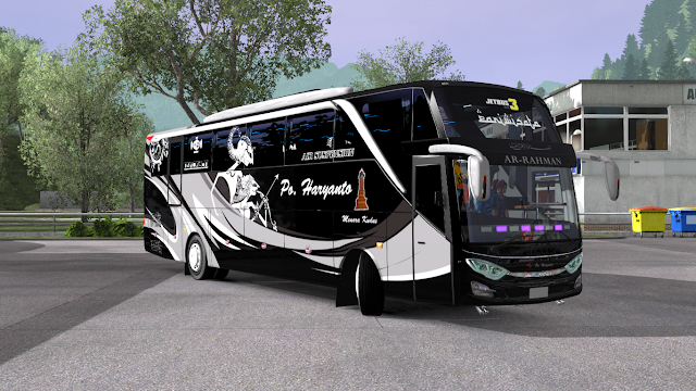 Skin Pack Jetbus3 Shd Rindray By Brf Ets2 Mod Indonesia