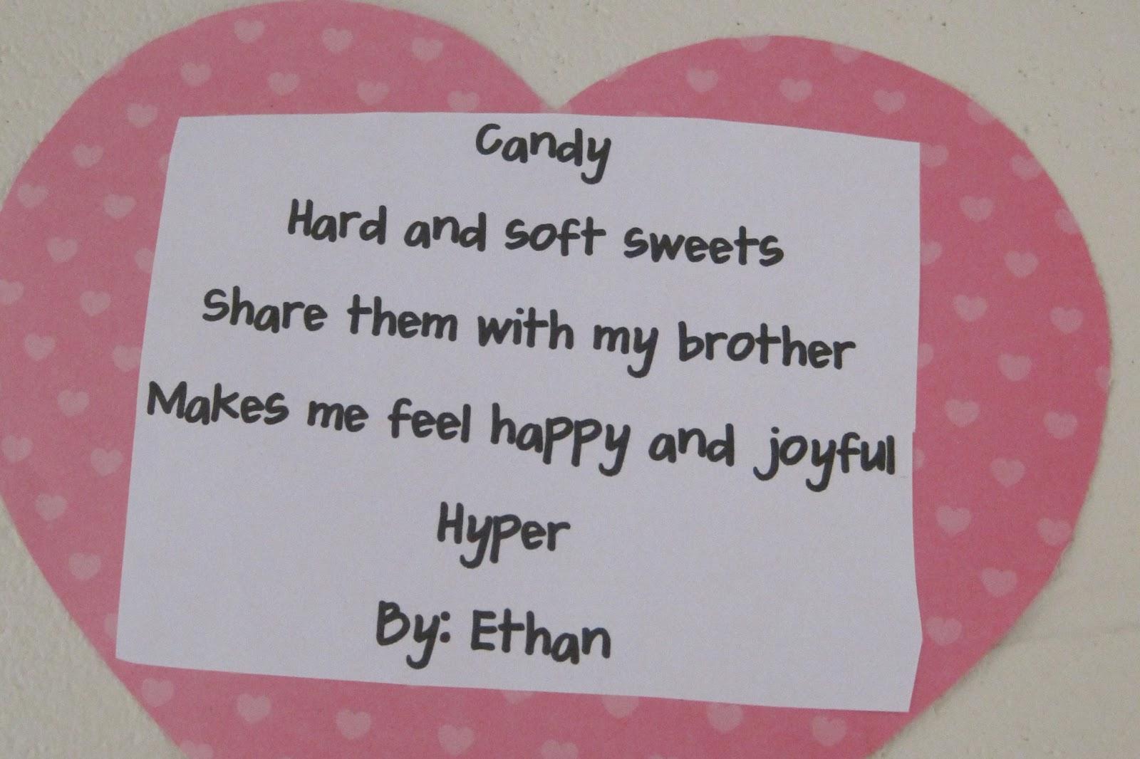 how to write a cinquain poem for kids