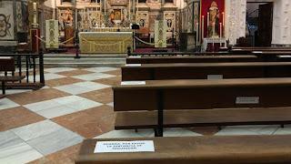 Desescalada en Cádiz: El culto en la nueva normalidad