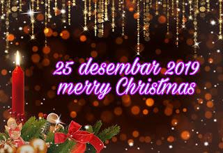 25 December 2019 merry Christmas