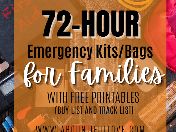 72-Hour Kits for Your Family