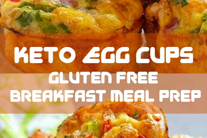 Keto Egg Cups are the perfect gluten free breakfast meal prep