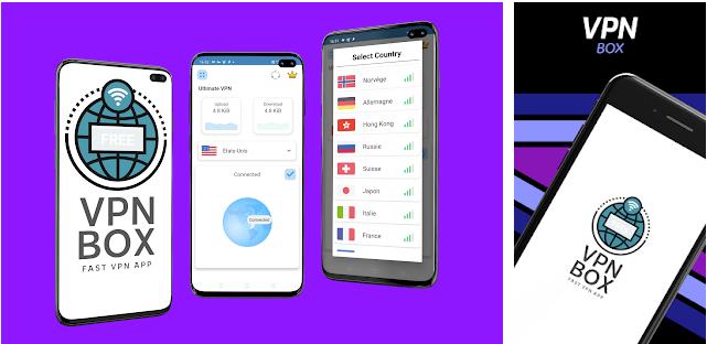 تطبيق VPNBOX المجاني لتصفح الانترنت دون قيود