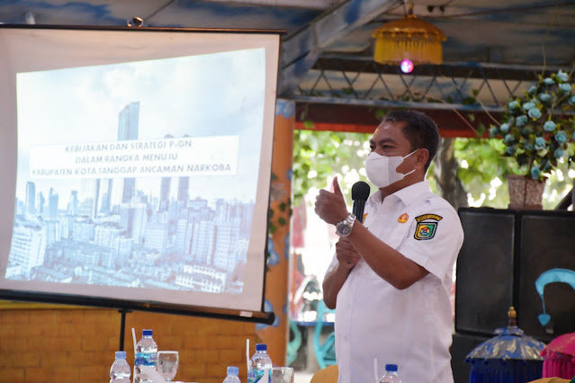 Bupati Sergai : Perlu Kerjsama Lembaga dan Masyarakat Dalam Memberantas Narkoba