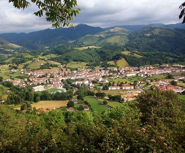 Elizondo (Navarra), imagen de Euskalduna