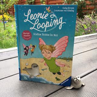 """""""Leonie Looping: Kleine Robbe in Not"""" (Band 7) von Cally Stronk, illustriert von Constanze von Kitzing, Ravensburger, Rezension von Kinderbuchblog Familienbücherei"""
