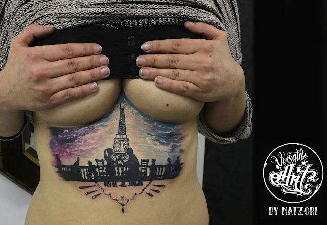 Amazing Sternum Tattoos Ideas