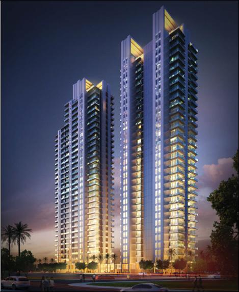 Apartment Tower Rendering: KUNINGAN, JAKARTA