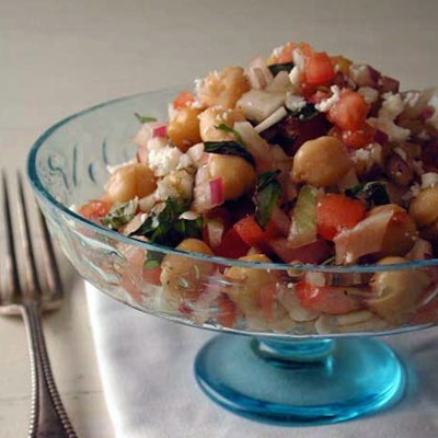 Italian Garbanzo Salad