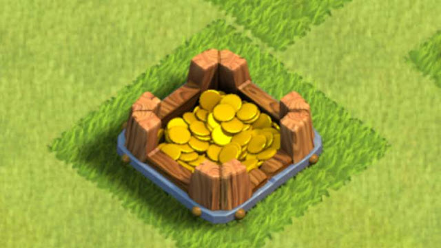 Clash Of Clans Gold Storage