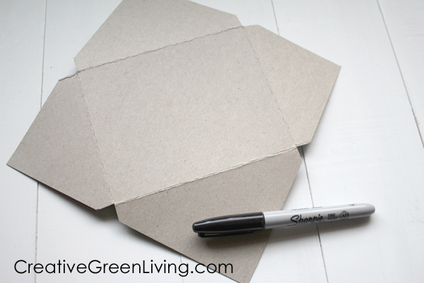 How to make a DIY homemade envelope - step by step instructions to make an envelope