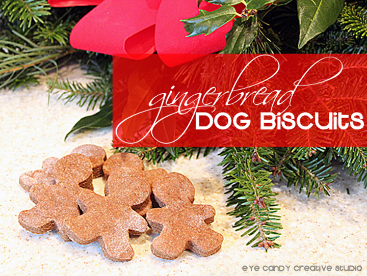 holiday treats for your dog, homemade dog biscuits, dog treat recipe