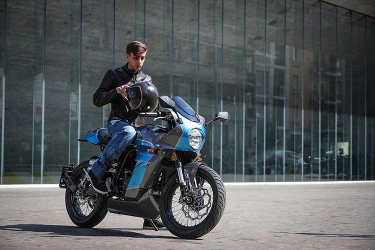 Ngắm môtô Aprilia Pagani 150 Café Racer chỉ 71,6 triệu đồng