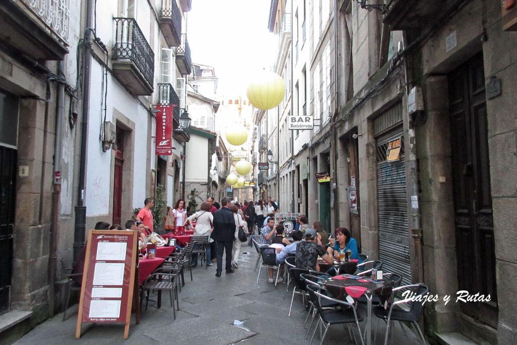 Rua fornos de Ourense