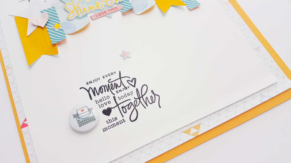 Written in the Stars Scrapbook Kit Workshop auf Studio Calico