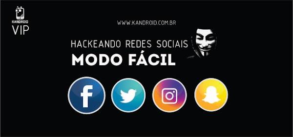 Como hackear Facebook, Twitter, Instagram e Snapchat!
