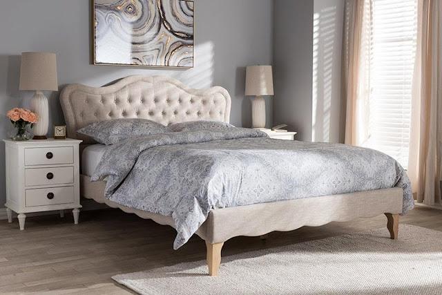 Mẫu giường ngủ cổ điển hơi hướng hiện đại