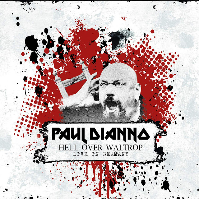 "Paul Di'Anno: ouça novo álbum ""Hell Over Waltrop - Live In Germany"""