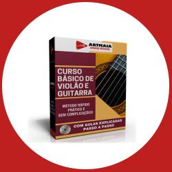 Curso Básico de Violão e Guitarra