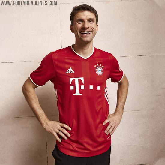 Bayern Munich 20 21 Home Kit Released Footy Headlines