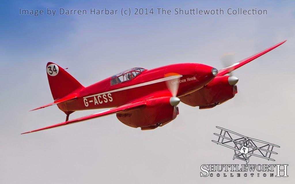 DH88 deHavilland's Racing Comets