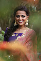 Actress Shraddha Srinath in Purple Chania Choli Cute Pics ~  Exclusive 22.jpg