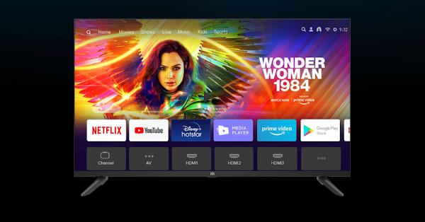 Xiaomi lança Mi TV 4A Horizon Edition de 40 polegadas