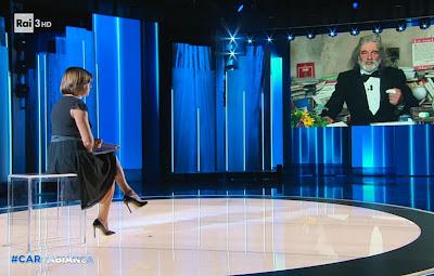 Bianca Berlinguer Mauro Corona cartabianca il ritorno 21 settembre