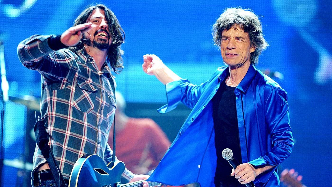 """Escuchá la nueva canción de Mick Jagger  junto a Dave Grohl """"Eazy Sleazy"""""""