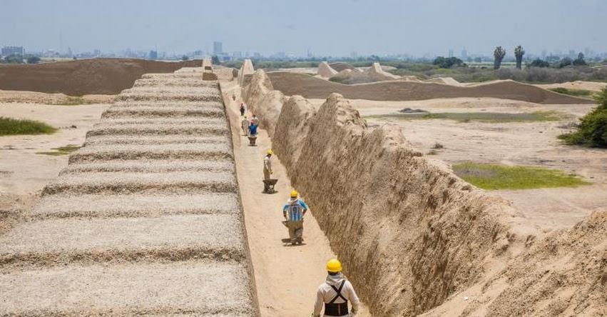 PECACH: Inician plan de mantenimiento y protección en complejo arqueológico Chan Chan