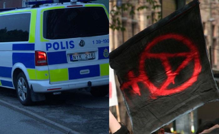 Stockholm : 7 antifas armés de barres de fer et de battes de baseball arrêtés par la police