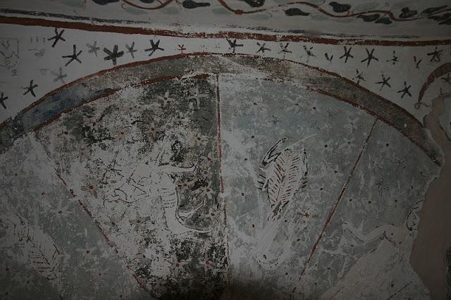 Paintings from the tomb of Sadosiris at Muzawaka (VI)