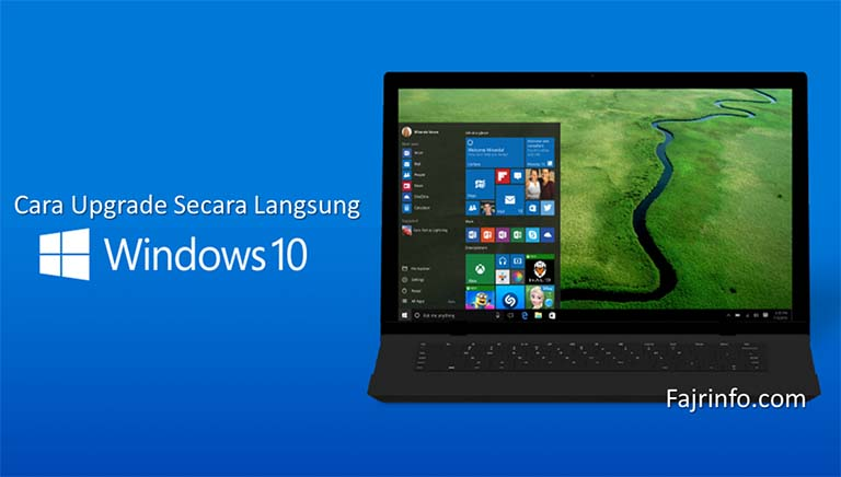 Cara Upgrade Windows 10 Tanpa Instal Ulang