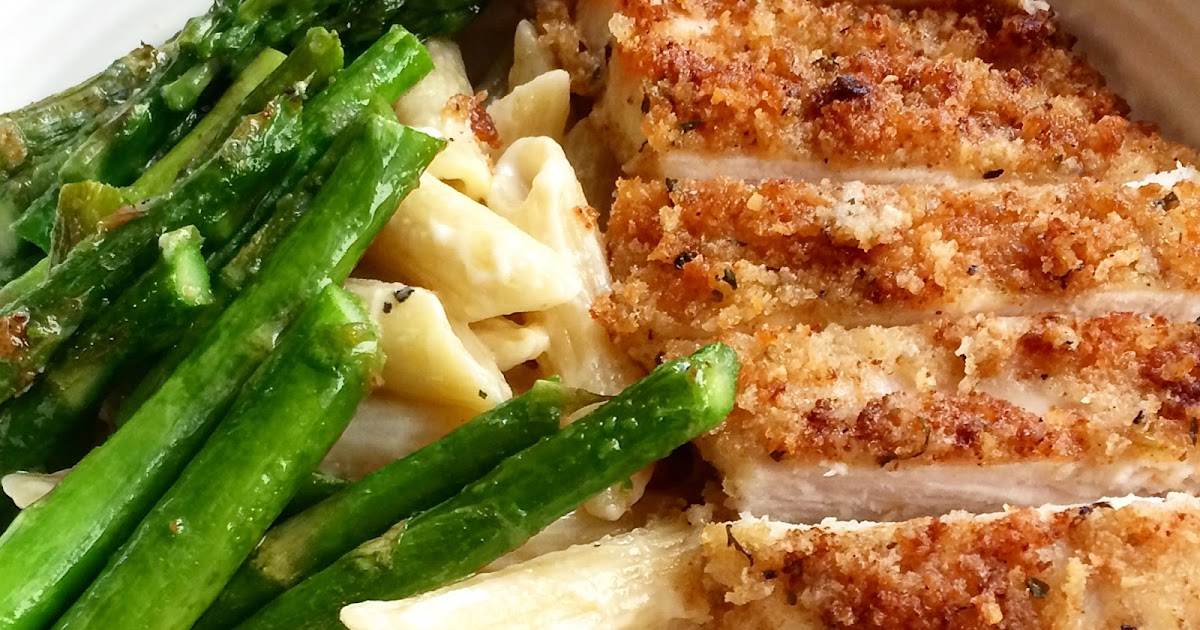 Penne With Asparagus, Olives & Parmigiano Breadcrumbs ...