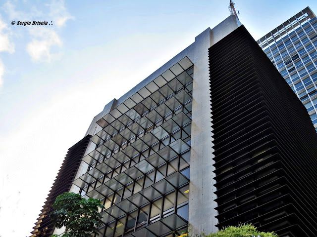 Vista da parte superior do Edifício Consulado Italiano - Cerqueira César - São Paulo