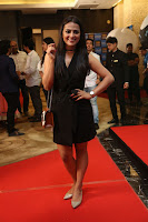 Actress Shraddha Srinath Stills in Black Short Dress at SIIMA Short Film Awards 2017 .COM 0039.JPG