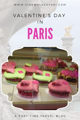 Valentine's Day in Paris France