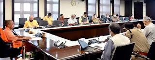 प्रदेश सरकार की प्रभावी रणनीति का परिणाम है कि राज्य में कोरोना संक्रमण नियंत्रित स्थिति में : मुख्यमंत्री योगी