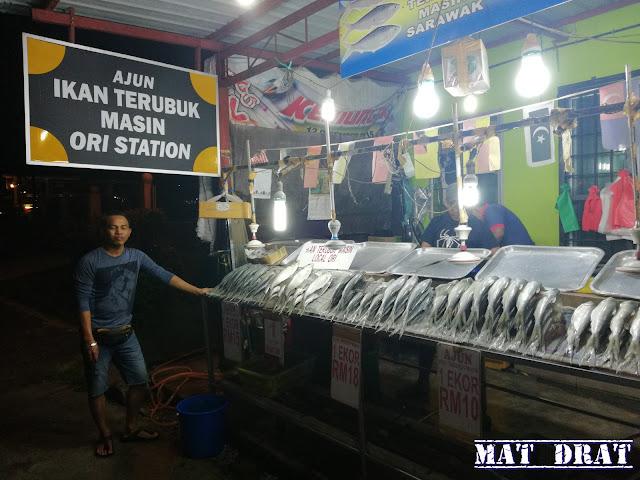 Ikan Terubuk Kuching Sarawak Ori