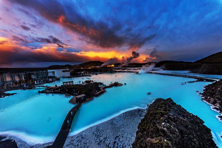 Blue Lagoon; Grindavik, Iceland