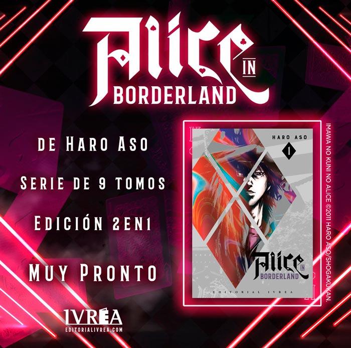 Alice in Borderland (Imawa no Kuni no Alice) manga - Haro Aso - Ivrea