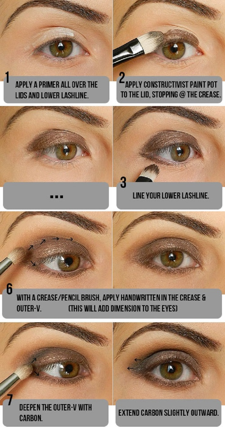 4 Fall Brown Smoky Eye Tutorials