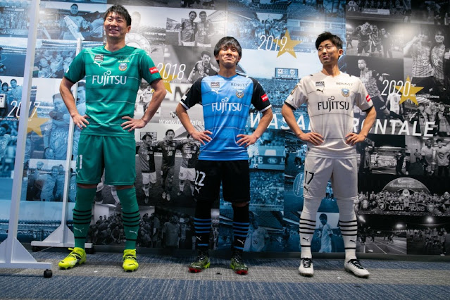J1 League 2021 Kawasaki Frontale Kits