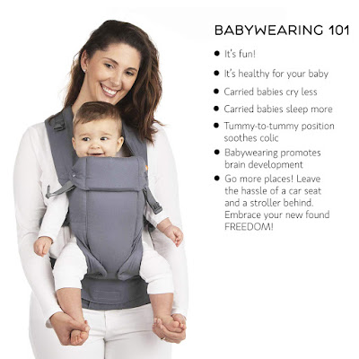 Beco Gemini Baby Carrier - Grey All Positions Performance